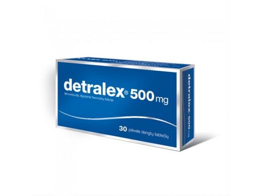 Detralex 500mg plėvele dengtos tabletės, N30