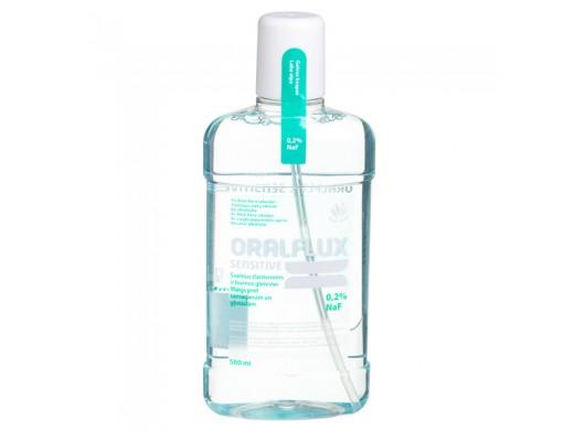 Burnos skystis Oralflux Sensitive 500ml