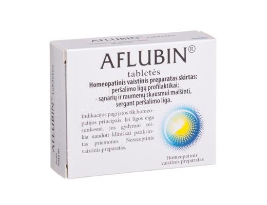 Aflubin tabletės, N48