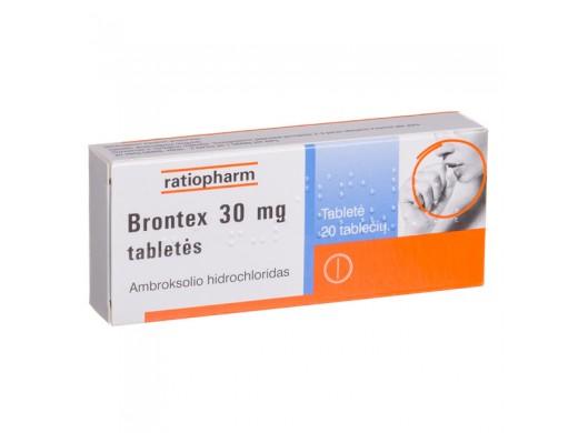 Brontex 30mg tabletės, N20