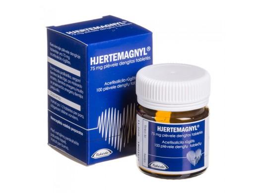 Hjertemagnyl 75mg plėvele dengtos tabletės, N100