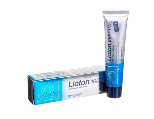 Lioton 1000TV/g gelis 50g, N1