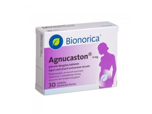 Agnucaston 4mg plėvele dengtos tabletės, N30