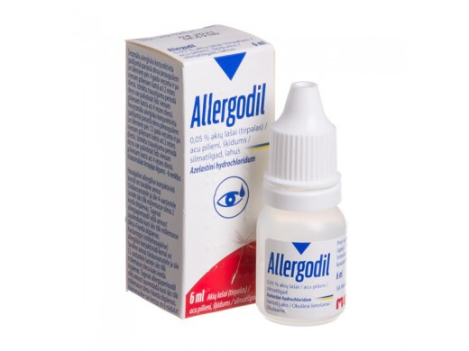 Allergodil akių lašai, tirpalas 6ml, N1