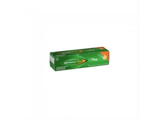 Berocca Plus šnypščiosios tabletės, N15