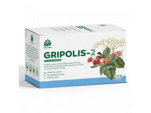 ŠVF žolelių arbata GRIPOLIS-2, 20 vnt., 2 g