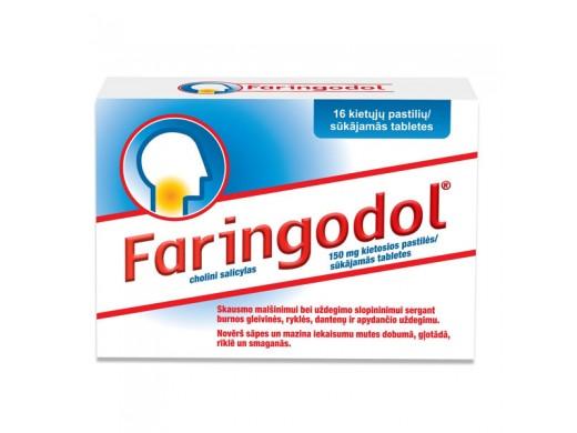Faringodol 150mg kietosios pastilės, N16