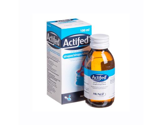 ACTIFED, 100 ml, su matavimo šaukštu, Sirupas, N1