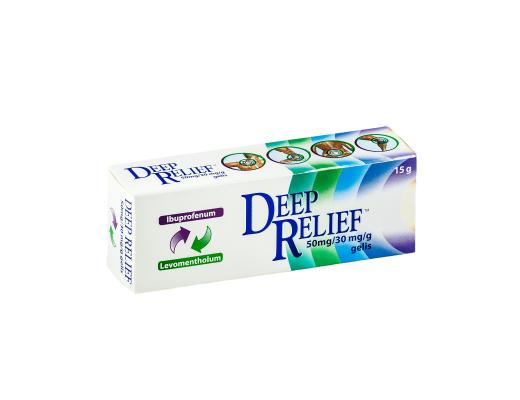 Deep Relief gelis 50g, N1