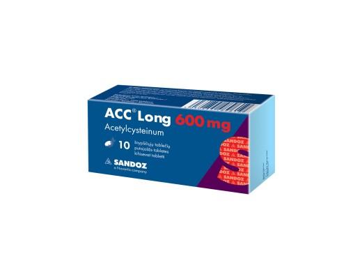 ACC Long, 600mg, Šnypščiosios tabletės, N10