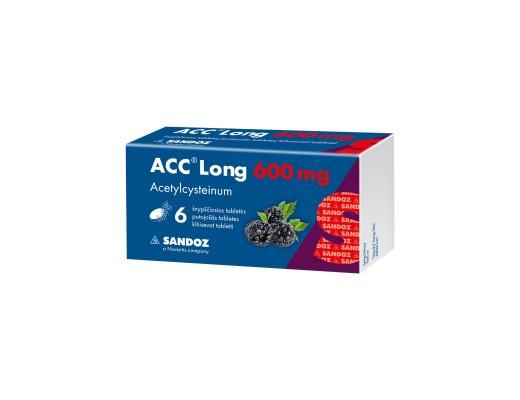 ACC Long, 600mg, Šnypščiosios tabletės, N6