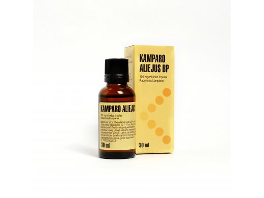 Kamparo aliejus Valentis 100mg/ml odos tirpalas 30ml, N1