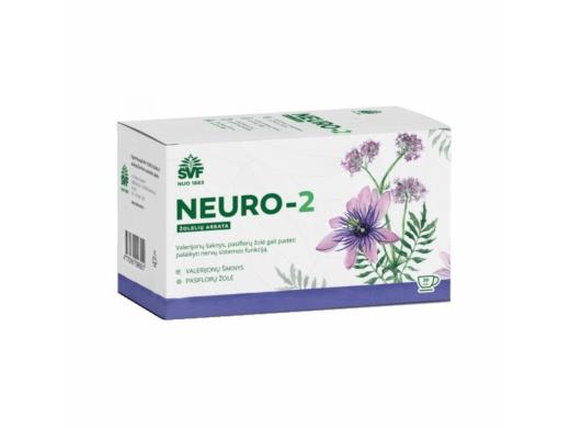 ŠVF NEURO - 2 žolelių arbata 1.5g, 20 pak.