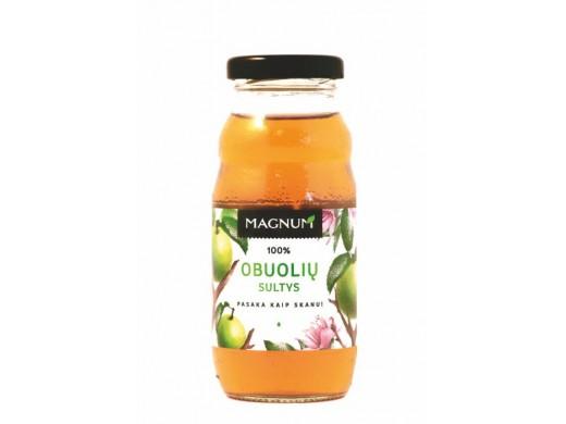 100% Obuolių sultys Magnum, 200 ml.