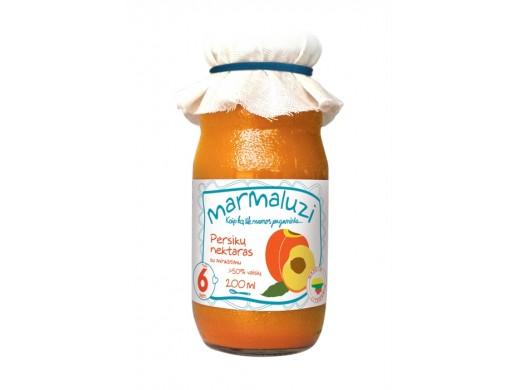 Persikų nektaras nuo 6 mėn., 200 ml.