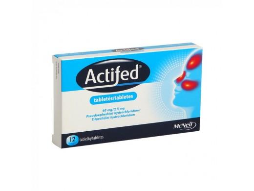 ACTIFED, Tabletės, N12