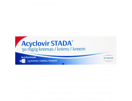 Acyclovir Stada 50mg/g kremas 5g