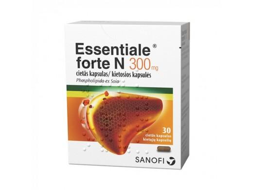 Essentiale forte N 300mg kietosios kapsulės, N30