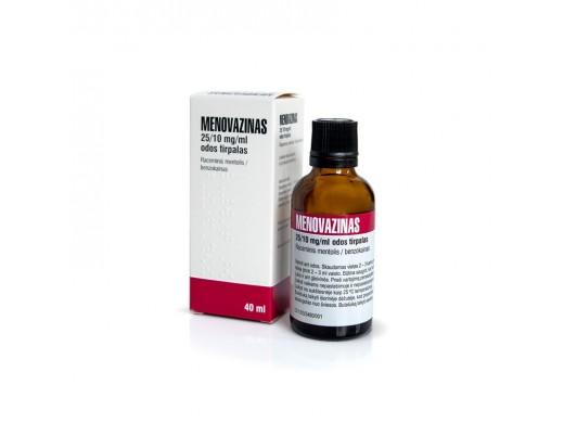Menovazinas, odos tirpalas 40ml, N1