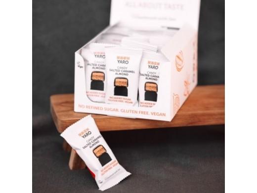 Saldainių dėžutė su sūdytos karamelės migdolais, 24 vnt.