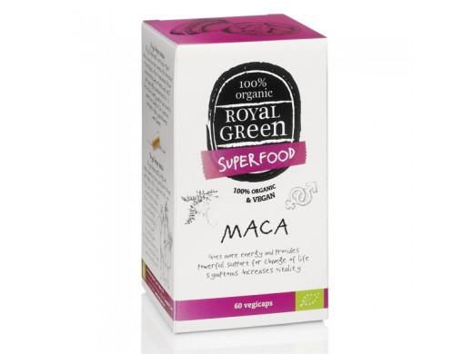 ROYAL GREEN MACA 500 mg. N60