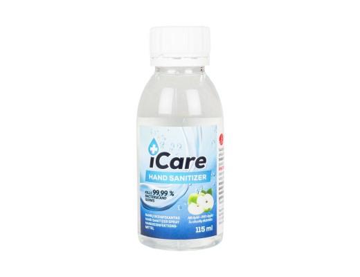 Rankų dezinfekantas su obuolio kvapu, 70 %, 115 ml.