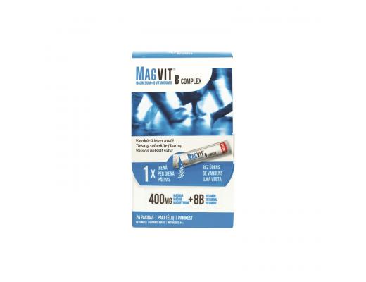 MAGVIT B6 Complex paketėliai su granulėmis N20