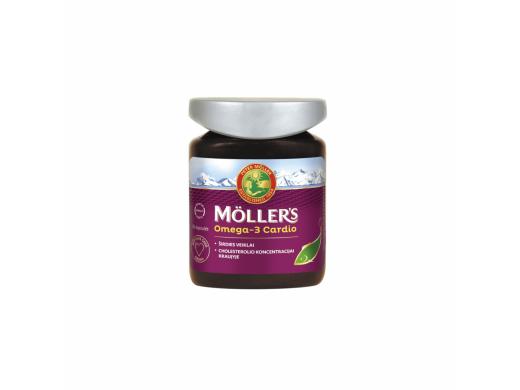 Möller's Omega-3 Cardio kapsulės N76