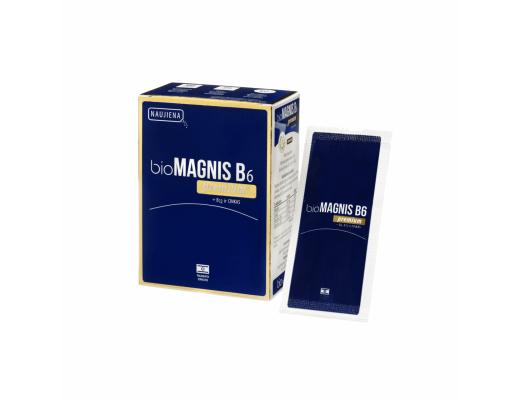 bioMAGNIS B6 premium+B12+cinkas milteliai N20