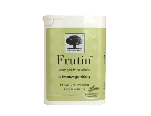 Frutin kramtomosios tabletės N30