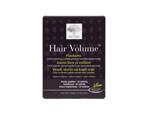 Hair Volume tabletės N30