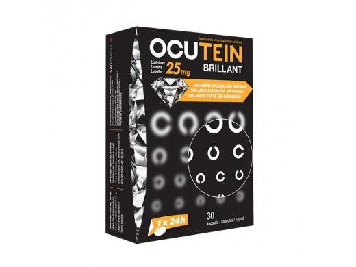 OCUTEIN BRILLIANT 25 mg. kapsulės N30