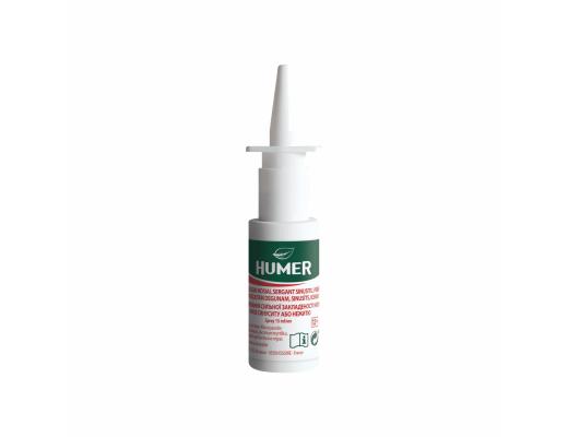 HUMER nosies purškalas nuo sinusito 15 ml.