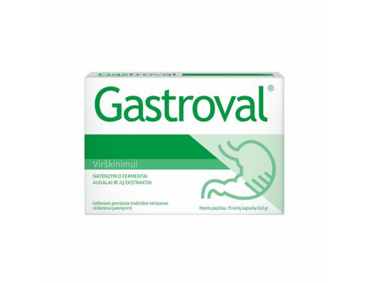 Gastroval kietosios kapsulės N15