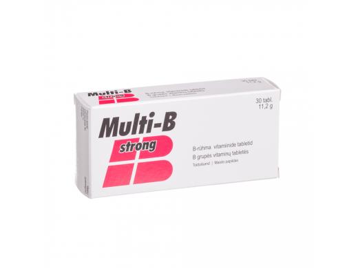 Multi-B Strong tabletės N30