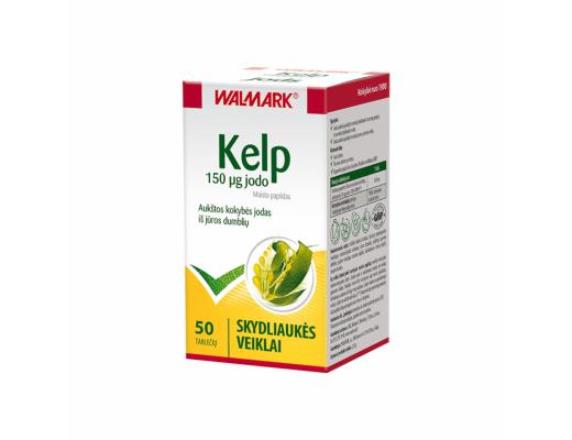 WALMARK Kelp 150 μg jodo tabletės N50