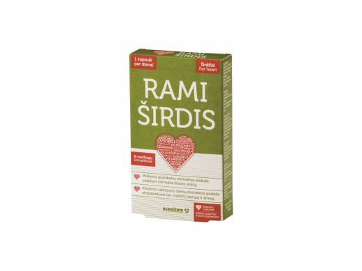 RAMI ŠIRDIS kapsulės N15
