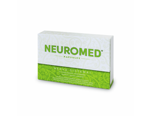Neuromed minkštos kapsulės N15