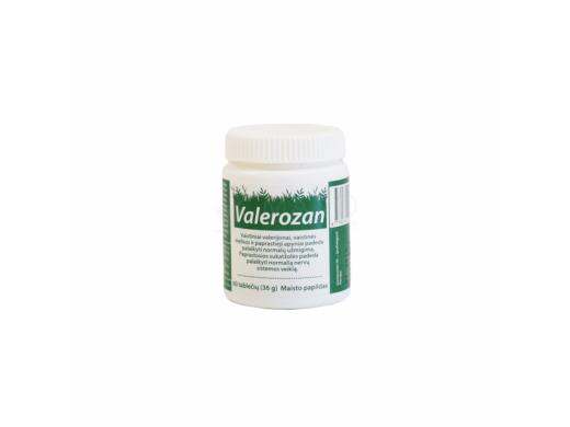 VALEROZAN tabletės N60