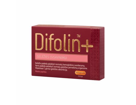Difolin+ kapsulės N30