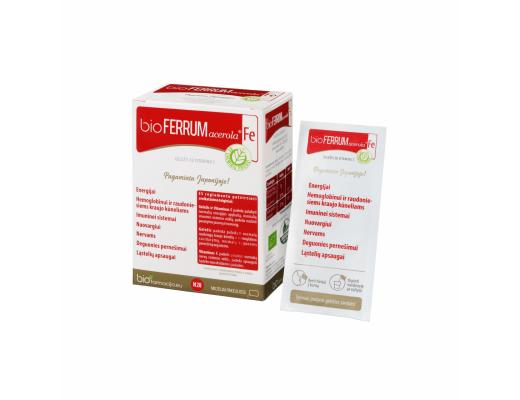 bioFERRUM acerola milteliai N28
