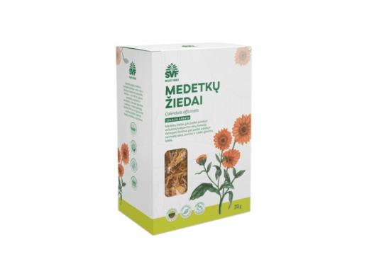 ŠVF žolelių arbata MEDETKŲ ŽIEDAI 30 g.