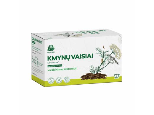 ŠVF žolelių arbata KMYNŲ VAISIAI 1,5 g. N24