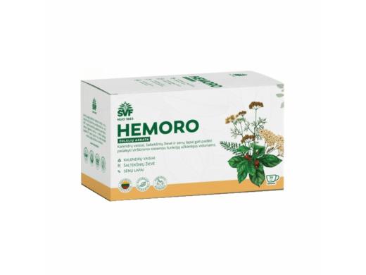ŠVF žolelių arbata HEMORO 1,5 g. N24