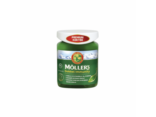 Möller's Dobbel Immunity kapsulės N100