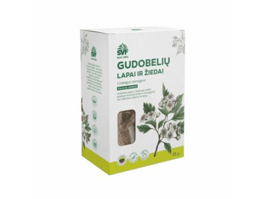 ŠVF žolelių arbata GUDOBELIŲ LAPAI IR ŽIEDAI 25 g.
