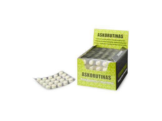 Askorutinas tabletės N20