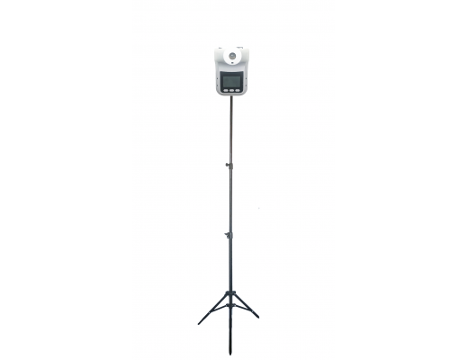 Bekontaktis termometras Maxkin K3 PRO su stovu