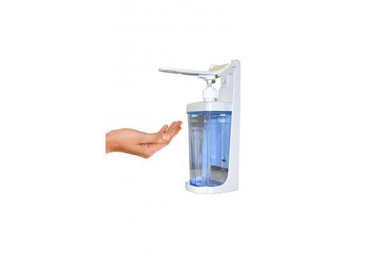 Skysčių ir dezinfekavimo priemonių dozatorius (alkūninis), 1000ml
