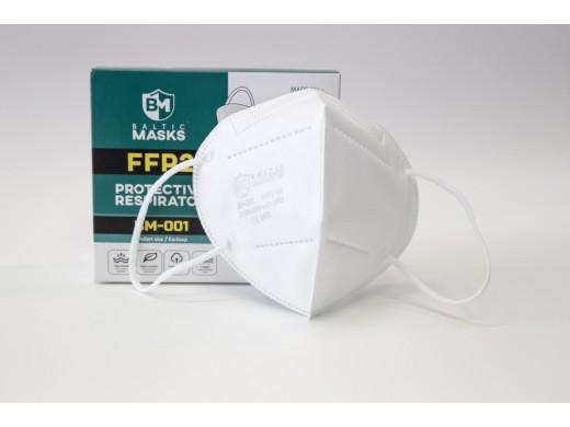 Respiratoriai FFP2 Baltic Masks, 10vnt.